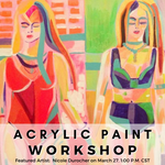 Artist Nicole Durocher - March Figurative Painting Workshop