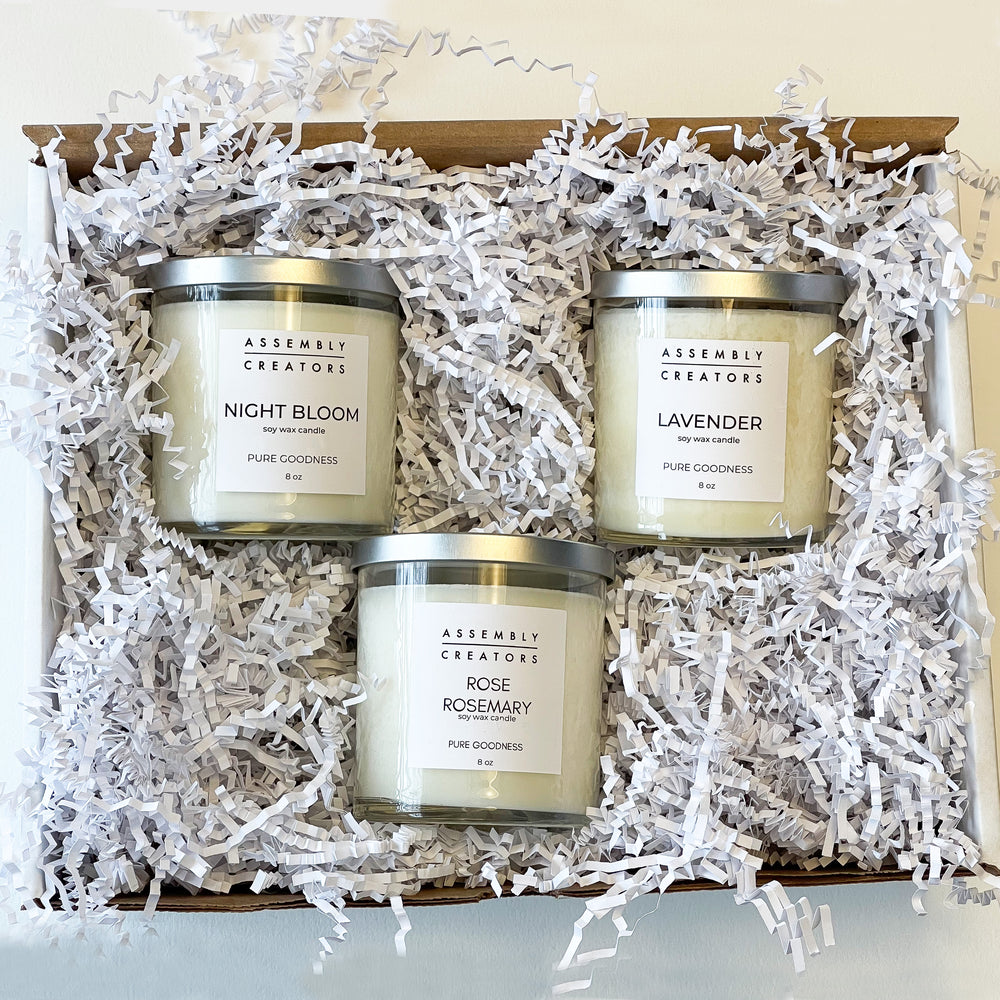 Deluxe Candle Trio