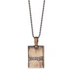 Iron-Strength Table of Elements Necklace
