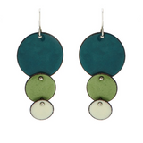 Unique Enamel Earrings