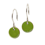 Modern Handcrafted Enamel Earrings