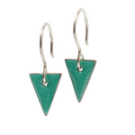 Delicate Enamel Earrings