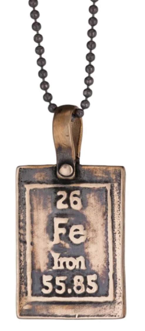 Marla Studio - Iron-Strength Table of Elements Necklace