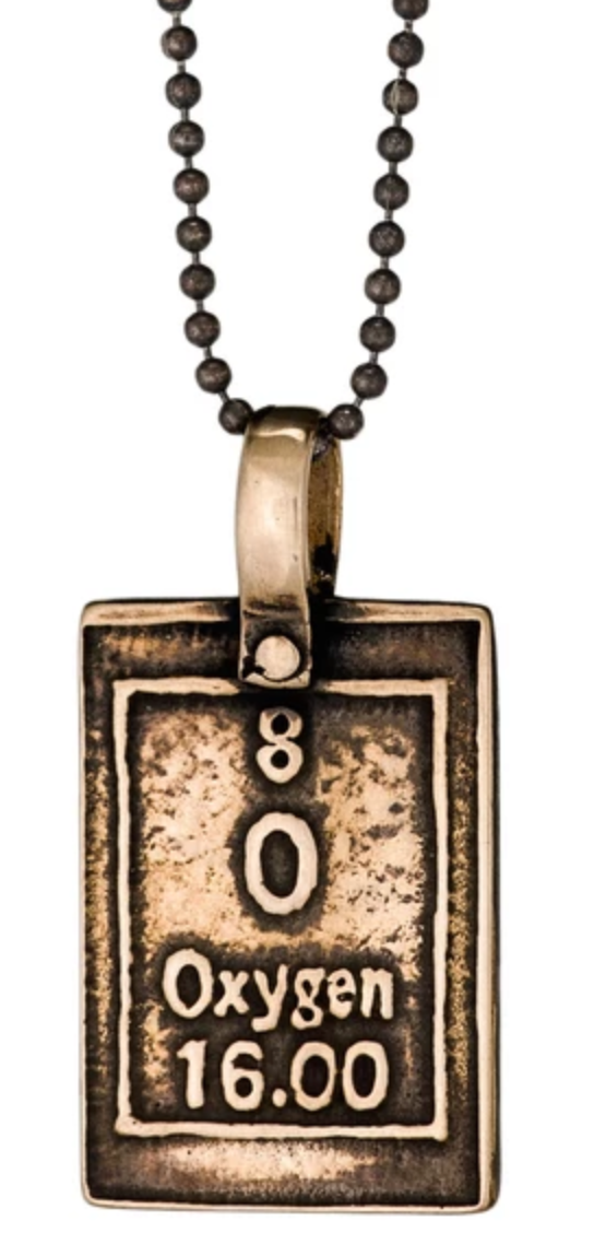 Marla Studio - Oxygen - Breathe Table of Elements Necklace