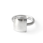 Handcrafted Sterling Silver Square Ring