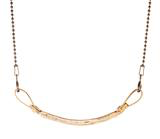 Marla Studio - Curved Bar Necklace