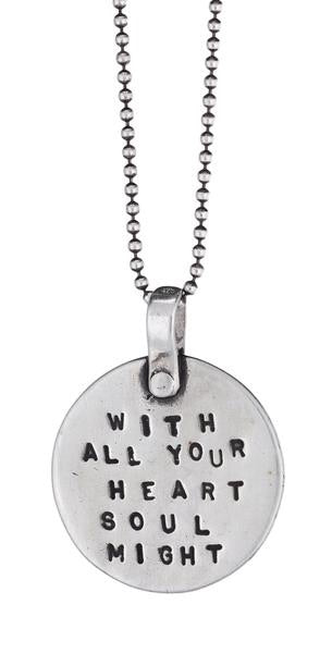"""With All Your Heart"" Necklace"