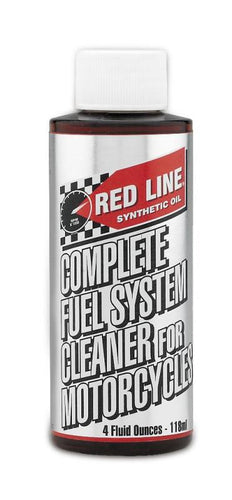 Red Line Complete Fuel System Cleaner for Motorcycles 4o - 60102
