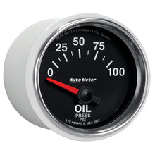 Load image into Gallery viewer, Autometer GS 0-100 PSI Short Sweep Electronic Oil Pressure Gauge - 3827,throtl-dev.