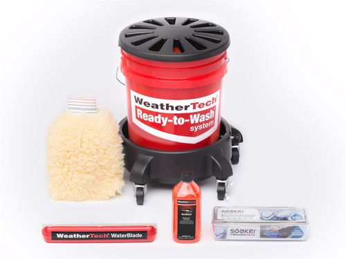 WeatherTech TechCare Ready To Wash System - 8ARTW1