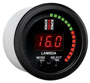 Autometer Stack Instruments 52mm Wideband Air-Fuel Ratio (LAMBDA) Gauge - - ST3403,throtl-dev.