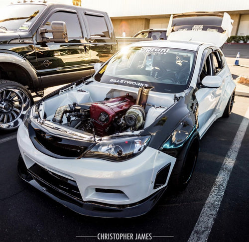 2011-2014 SUBARU WRX HATCHBACK WIDE BODY KIT MNTRIDER DESIGN