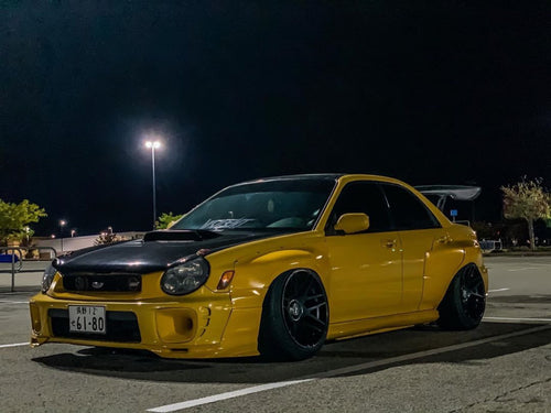 2004-2005 SUBARU WRX AND STI WIDE BODY KIT MNTRIDER DESIGN