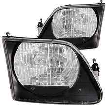 Load image into Gallery viewer, ANZO 1997.5-2003 Ford F-150 Crystal Headlights Black G2 - 111083