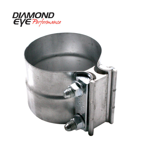 Diamond Eye 2.5in LAP JOINT CLAMP 304 SS - L25SA