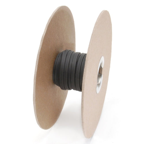 DEI Hi-Temp Shrink Tube 6mm x 50ft Spool - Black - 010855