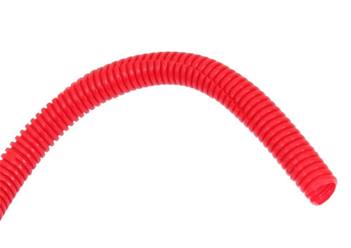 Spectre Wire Loom 3/8in. Diameter / 8ft. Length - Red - 29682