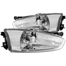 Load image into Gallery viewer, ANZO 1997-2002 Mitsubishi Mirage Crystal Headlights Chrome - 121106