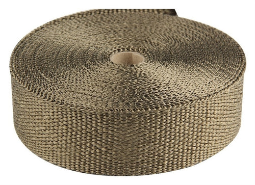 Torque Solution Exhaust Wrap Universal 2inx100ft - Lava - TS-EW-2X100L