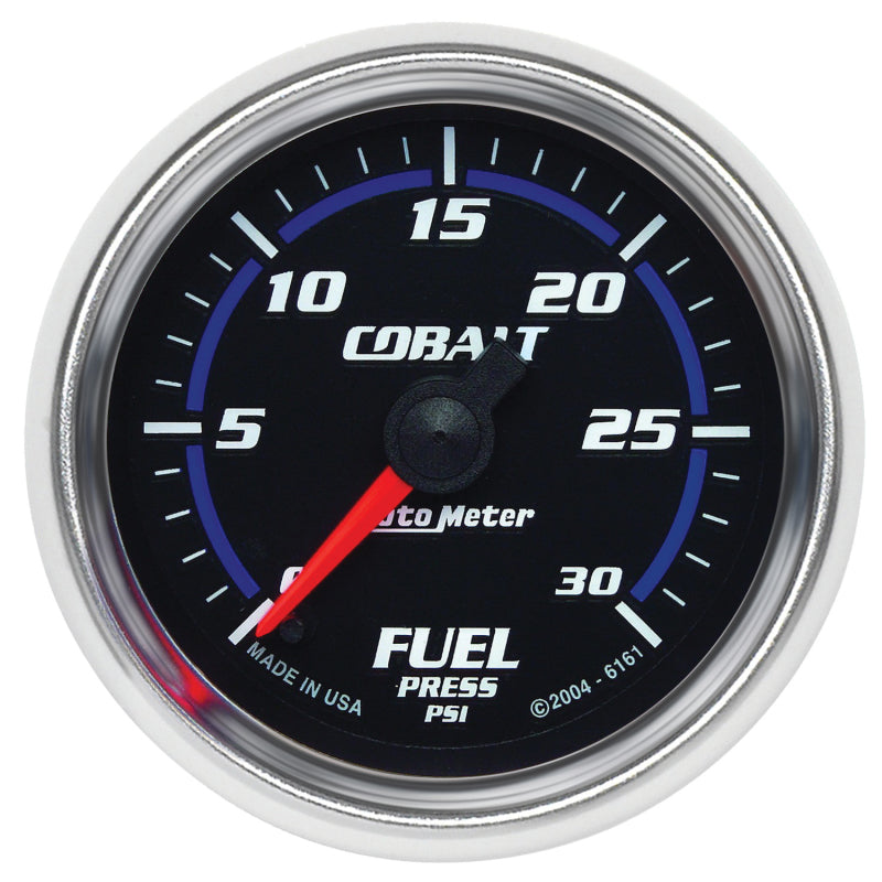 Autometer Cobalt 52mm 0-30 PSI Full Sweep Electronic Fuel Pressure - 6161,throtl-dev.