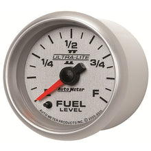 Load image into Gallery viewer, Autometer Ultra-Lite II 2-1/16in 0-280 Ohm Programmable Fuel Level Gauge - 4910,throtl-dev.