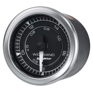 Autometer Chrono 2-1/16in 8:1-18:1 Air/Fuel Ratio Analog Wideband Gauge - 8170,throtl-dev.