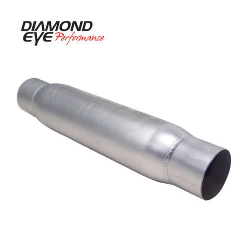 Diamond Eye RESONATOR 4in W/ ENDS (CLAMPED) AL - 400405