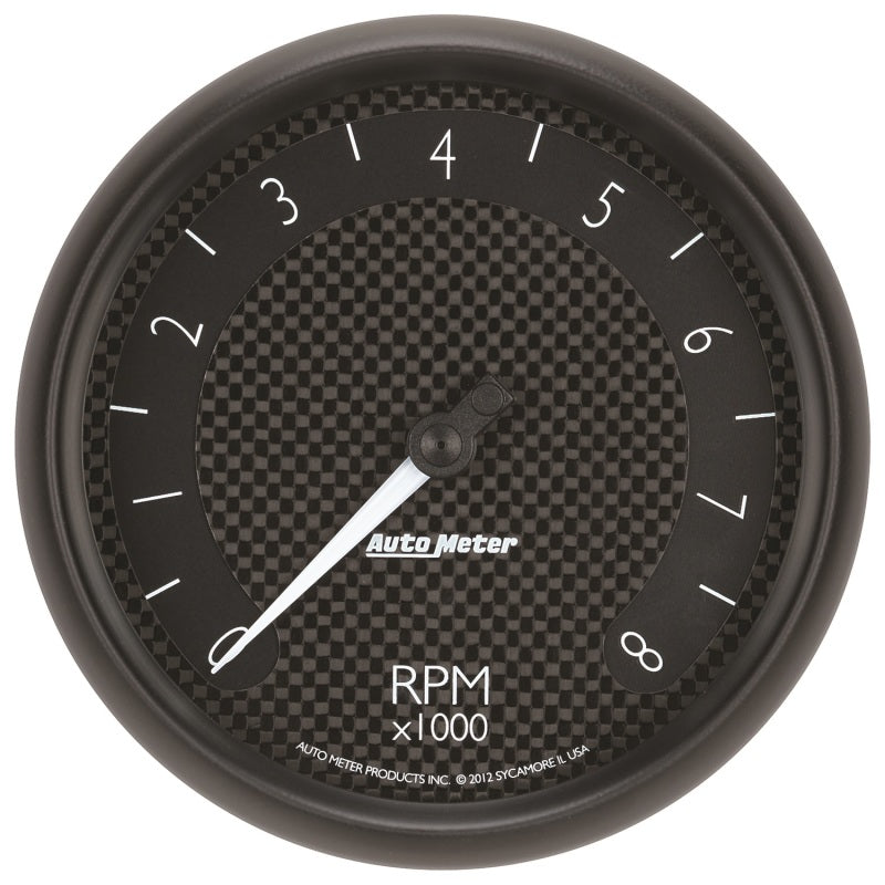 Autometer GT Series 5in In Dash 8K RPM Tachometer - 8098,throtl-dev.