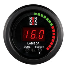 Load image into Gallery viewer, Autometer Stack Instruments 52mm Wideband Air-Fuel Ratio (LAMBDA) Gauge - - ST3403,throtl-dev.