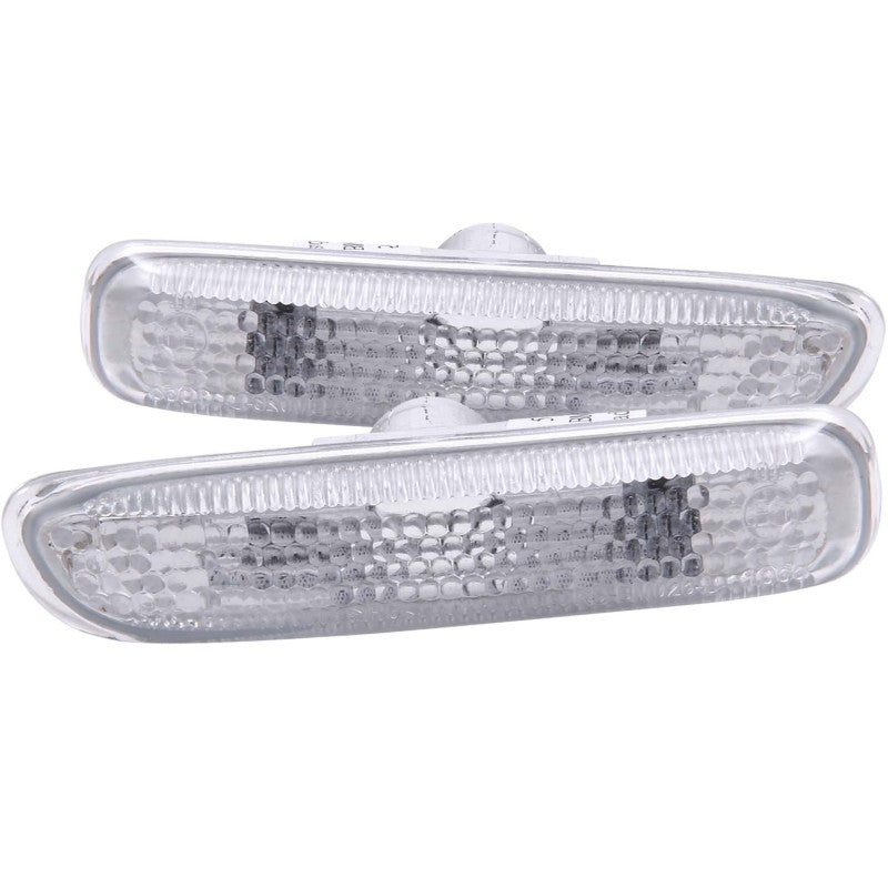 ANZO 1999-2001 BMW 3 Series Side Marker Lights Clear - 511024