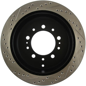 StopTech Slotted & Drilled Sport Brake Rotor - 127.44157L,throtl-dev.