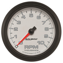 Load image into Gallery viewer, Autometer Pro-Cycle Gauge Tachometer 3 3/8in 10K Rpm White - 19598,throtl-dev.