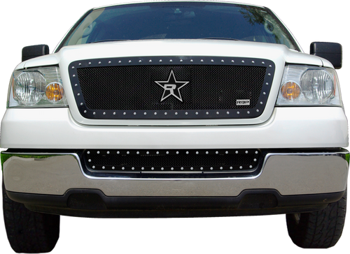 RBP RX-5 Halo Series Studded Frame 1pc. Grille 04-08 For - RBP-258556