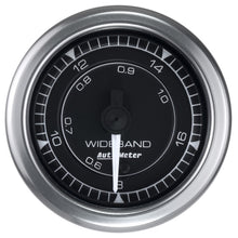 Load image into Gallery viewer, Autometer Chrono 2-1/16in 8:1-18:1 Air/Fuel Ratio Analog Wideband Gauge - 8170,throtl-dev.