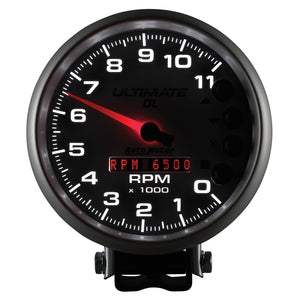 Autometer 5 inch Ultimate DL Playback Tachometer 11000 RPM - - 6895,throtl-dev.