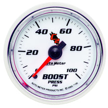 Load image into Gallery viewer, Autometer C2 52mm 0-100 PSI Mechanical Boost Gauge - 7106,throtl-dev.