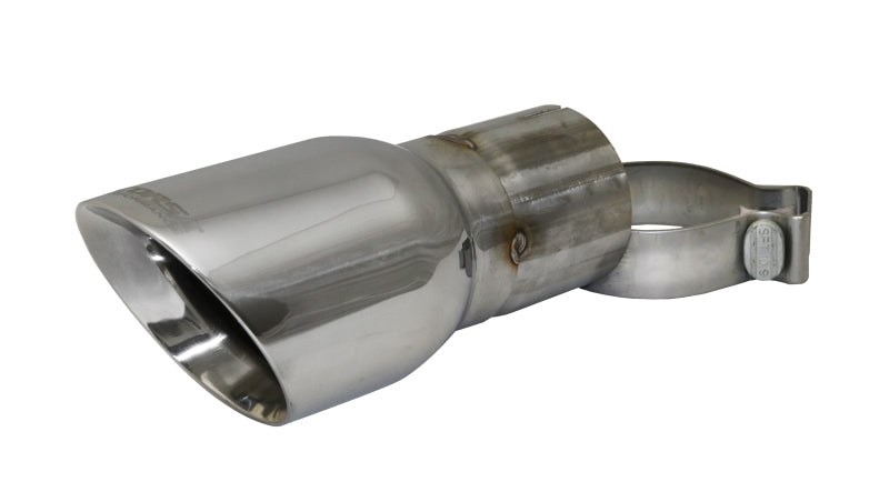 Corsa Single Universal 3.0in Inlet / 4in Outlet Polished Pro-Series - TK006,throtl-dev.