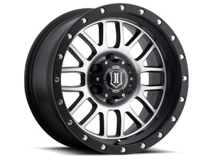 ICON Alpha 17x8.5 5x5 0mm Offset 4.75in BS 71.5mm Bore - 1217857347MB