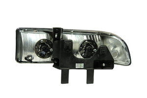 ANZO 1998-2005 Chevrolet S-10 Crystal Headlights Chrome - 111014