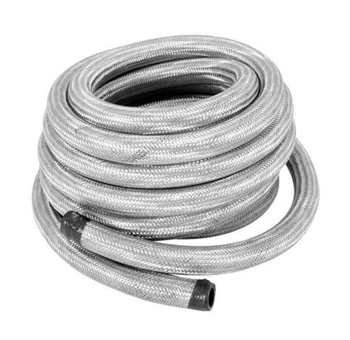 Spectre Stainless Steel Flex Fuel Line 5/16in. ID - 25ft - 29325