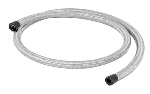 Spectre Stainless Steel Flex Fuel Line 1/4in. ID - 4ft. - 29204