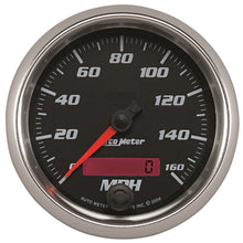 Load image into Gallery viewer, Autometer Pro-Cycle Gauge Speedometer 3 3/8in 160Mph Elec. Programmable Black - 19689,throtl-dev.