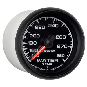 Autometer ES 52mm 140-280 Deg F Mechanical Water Temperature Gauge - 5931,throtl-dev.
