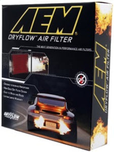 AEM 13-17 Cadillac ATS V6-3.6L F/I DryFlow Air Filter - 28-20496,throtl-dev.