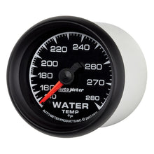 Load image into Gallery viewer, Autometer ES 52mm 140-280 Deg F Mechanical Water Temperature Gauge - 5931,throtl-dev.