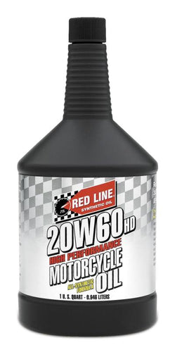 Red Line 20W60 Motorcycle Oil Quart - 12604
