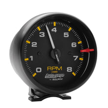 Load image into Gallery viewer, Autometer Autogage Black 8,000 RPM Pedestal Mount Tachometer - 2300,throtl-dev.