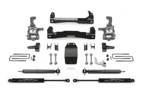 Fabtech 15-18 Ford F150 4WD 4in Basic System w/Rear Stea - K2193M
