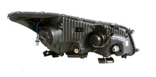 Load image into Gallery viewer, ANZO 2008-2012 Honda Accord Projector Headlights w/ U-Bar Black - 121483
