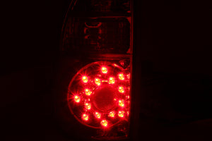 ANZO 2005-2006 Toyota Tundra LED Taillights Red/Clear - 311117